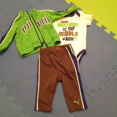 Just added this to my shop on Kidizen: Puma 3 Piece Sweat Suit via @kidizen #shopkidizen