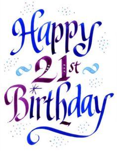 Happy 21st Birthday Wishes Quotes, Images & Meme Happy