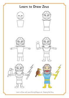 Learn to Draw Zeus