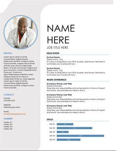 Blue Grey Resume Pendidikan