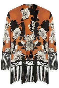 **Fringe Kimono by Love