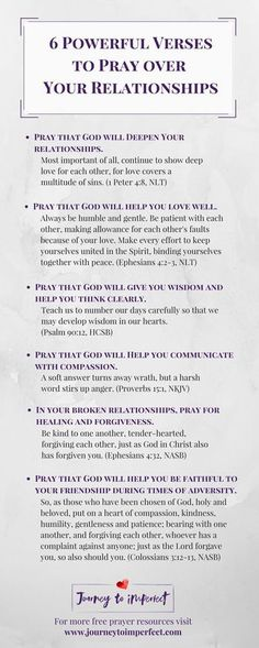 Prayer changes things, especially when it comes to relationships! Pray these powerful verses over your relationships for lasting impact, healing, and renewal from a God who cares! #relationships #prayer #bibleverses #friendship #marriage