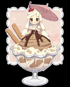 Read Chibi from the story Imagenes Anime by Silvana-Art (☆Silvana☆) with reads. Cartoon As Anime, Cute Anime Chibi, Cute Anime Pics, Kawaii Chibi, Kawaii Art, Kawaii Anime, Cute Animal Drawings Kawaii, Cute Food Drawings, Chibi Girl Drawings