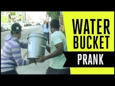 """""""WATER BUCKET PRANK on the Beach"""" by Molo Nation  --What a freaking efficient prank! Freaking nuts!"""