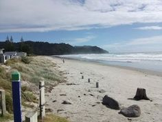 Waihi Beach is a coastal town at the western end of the Bay of Plenty in New Zealand's North Island.