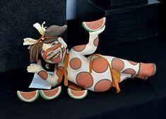 Contemporary Clay In Santa Fe Pottery Sculpture, Sculpture Clay, Ceramic Sculptures, Slab Roller, Native American Pottery, Ceramic Figures, Native Indian, Illustration Art, Contemporary