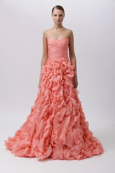 Would Love To Wear This Monique Lhuillier Dress C Wedding Fall Dresses