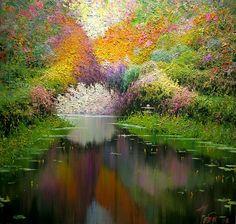 Japanese Garden By Taras Loboda