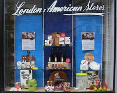 Fathers' Day  Window display and image by Patricia Denis for client: London and American Supply Stores.