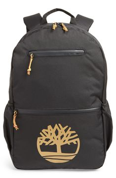 huge selection of d5742 4688b TIMBERLAND LOGO GRAPHIC WATER RESISTANT BACKPACK - BLACK.  timberland  bags   backpacks
