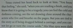 When Clockwork Princess describes exactly what it feels like to read Clockwork Princess