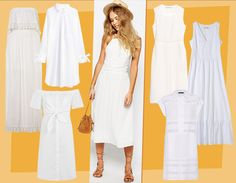 Freschi e chic, gli abiti bianchi sono la soluzione perfetta per i tuoi look estivi, sia di giorno che di sera: ecco i modelli da scegliere
