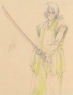 Sword Of The Stranger, Pencil Test, Samurai, One Piece Luffy, Cowboy Bebop, Anime Poses, Anime Films, Manga Art, Character Art