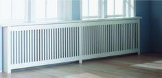 Radiatorskjuler - 153 x 100 cm - hvid Radiator Cover, New York Style, Living Room Interior, Radiators, Outdoor Furniture, Outdoor Decor, Kitchen Storage, Cambridge, Home Appliances