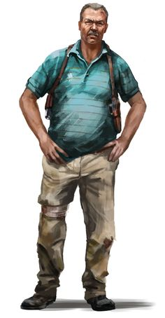 Leonard - Pictures & Characters Art - Far Cry 3