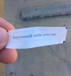 I think my fortune cookie just threatened me