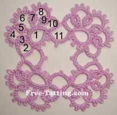 {FREE}  tatting pattern: