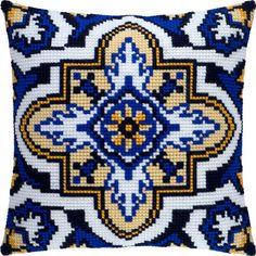 """Купить """"Турецкая арабеска Z-46"""". Производитель: Чарівниця. Раздел: Наборы для вышивки подушек крестом/Вышивание"""
