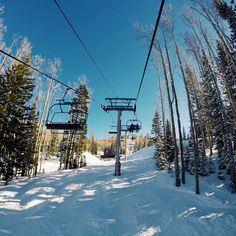 """""""Could it get any better than this?! Perfect day on the slopes!"""" Park City, Utah"""