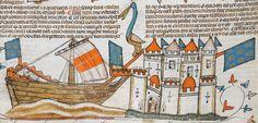 Royal MS 10 E IV Date c 1300-c 1340 Title Decretals of Gregory IX with gloss of Bernard of Parma (the 'Smithfield Decretals') Detail Folio 208v
