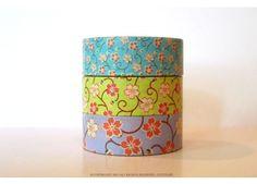 Chugoku Blossom Washi Tape Mini - Washi Tape (Other)