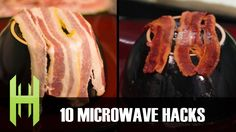 Household Hacker (previously) demonstrates 10 quick and simple microwave oven tricks in their latest video to make life easier and more delicious. They show how to cook a few slices of bacon in a h...