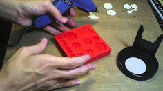 Swirlydoos Scrapbook Kits - Tutorial - Making and Painting Mod Melts