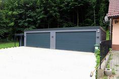 Atypická garáž GARDEON na mieru Banks, Garage Doors, Outdoor Decor, Home Decor, Decoration Home, Room Decor, Home Interior Design, Carriage Doors, Couches