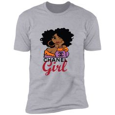 Black Girl T Shirts, Culture Shirt, Black Queen, Chanel Black, Short, Luxury, Sleeves, Mens Tops, Fashion