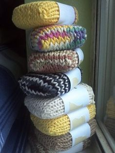 Knitted Soap Socks | 31 Cheap And Easy Last-Minute DIY Gifts They'll Actually Want