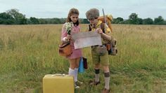 Moonrise Kingdom, partly filmed at Camp #Yawgoog in Rhode Island (RI), won the Gotham Independent Film Award for Best Feature; it was also nominated for Best Ensemble Performance.  Shown are Suzy Bishop (played by Kara Hayward) and Sam Shakusky (Jared Gilman).