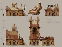 Desert buildings