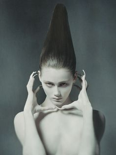Photographer: Raimondo Cantafio Model: Sophie Miller Hair: Linh Nguyen Makeup: Cheriene Waddell Makeup Assistant: Lu Wang