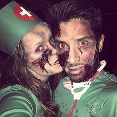 Bloody Doctor and Nurse costume