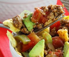 """Easy Taco Pie Paleo Recipe from Paleo Newbie 
