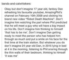 text posts about dan and phil - Google Search