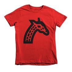 Giraffe Short sleeve kids t-shirt