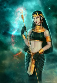 Bastet by Marizano.deviantart.com on @deviantART.............. The goddess of cats