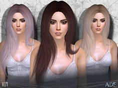 Kim hair by Ade_Darma at TSR • Sims 4 Updates