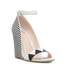 Outstanding Shoes Makes All Summer Fresh Look. Lovely Colors and Shape. The Best of wedges in 2017.