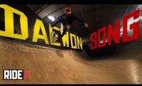Vídeos Slow Motion: Daewon Song Blunt Stall Bigger Flip -  Na sessão de linhas em Slow motion mais uma manobra do skatista lendário Daewon Song como já não era de se esperar uma manobra pesada Blunt Stall Bigger Flip, no mini ramp, divulgação Slow