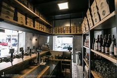 View the full picture gallery of Unto Palermo, Fast Food, Love Your Home, Restaurant Interior Design, Restaurant Bar, Liquor Cabinet, Architecture Design, Restoration, Studio