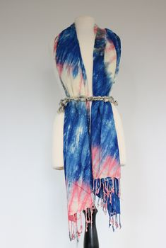 Wear our scarves as a cardigan! Just a cute tank underneath and a belt of your choice. Ethical Fashion, Wrap Dress, Scarves, Artisan, Belt, Fabric, Pattern, Cotton, How To Wear