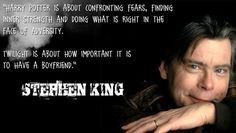 Stephen King on Twilight