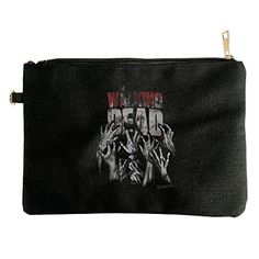 Walking Dead Hands Reaching Canvas Pouch Bag >>> You can get additional details at the affiliate link Amazon.com.
