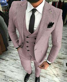 Guys Formal Style - 19 Best Formal Outfit Ideas for Men Mens Fashion Suits, Mens Suits, Tan Suit Men, Tan Groomsmen Suits, Dapper Suits, Mode Man, Designer Suits For Men, Brown Suits, Brown Tie