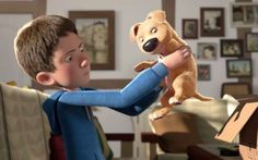This short film about a boy and a disabled dog is winning hearts and awards everywhere Pixar, Gif Animé, Animated Gif, Make A Cartoon, Disabled Dog, Walt Disney, Cinema, Film D'animation, New Puppy