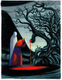 Canto XIII - Pier della Vigna - Divina Commedia - Inferno (Nuages, 2006)
