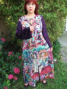 Buy Handpainted silkcoat size M. by aminamarei. Explore more products on http://aminamarei.etsy.com