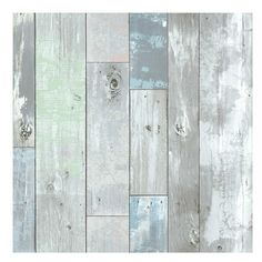 """Wallpops 'White Wood' Prepasted Wallpaper"" (240 PLN) ❤ liked on Polyvore featuring home, home decor, wallpaper, backgrounds, wood, patterns, filler, text, grey and picture frame"